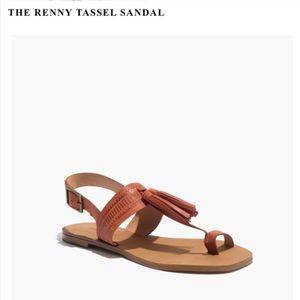 Madewell Renny Tassel Sandals